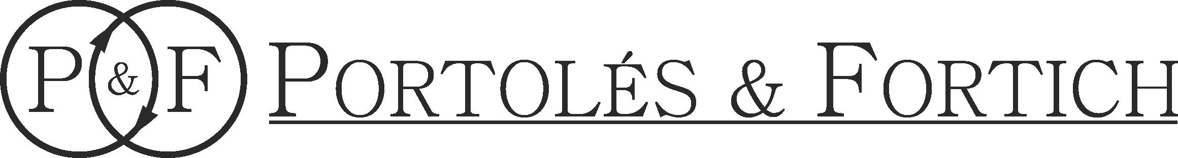 Logo P&F (muy grande en negro)